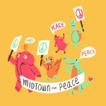 animals, peace, alligator, duck, little pig, Turtle, elephant, snail, protesting, and March