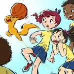 squirrel, Basketball, kids going to play basketball, Katie, and girls sports
