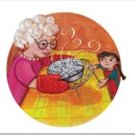 Cooking, Grandmother and Child, and Grandma