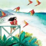tropical,  girl heroes, and children in nature