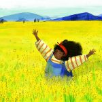 field, Strong girl character, and #Children's book