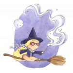 little witch and Harry Potter