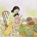 Food, Chinese culture, Mom and Daughter, and Cooking and Food