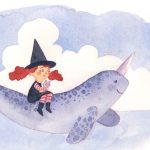 little witch and narwhal