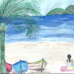 at the seaside and Caribbean Culture