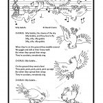 birds, Humour, animal, cartoon., whimsy, Children's Songs, and colouring book