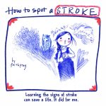 Stroke, Community Health, infographic, and autobiography