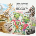 #Children's book, Friendly Monsters, and a picture book
