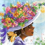 scbwi draw this,  flowers, and Easter