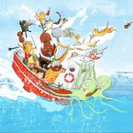 picture book boat, Boat, Cats, classical music, and orchestra