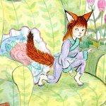 Children's fantasy, shape shifters, fox, and At home