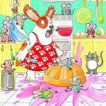 doggie, Baking, Cats, mice, kitchen, Cooking, and Mess