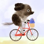 bicycle and chicken