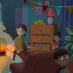 kids playing, children's book, and Hide and Seek