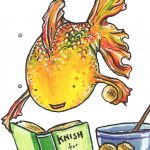 goldfish, Animals, baking, and Cooking and Food
