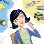Career choices for high school students and Magazine Illustration