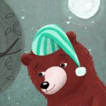 Bears, Bunny, At Night, child reading, and #Children's book