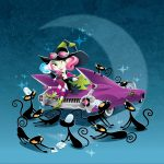 Friendly Monsters, witches, Cats, Halloween picture book, and alphabet book