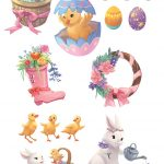 Cute Animals, Easter Bunny, Easter, and Easter egg