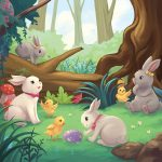 Cute Animals,   cute, Easter, and Easter Bunny