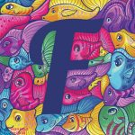 colorful fish and alphabet letters