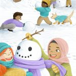 cultural diversity, Multicultural and Diversity,   snow,  Winter, children in nature, and Children playing
