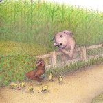 a picture book, common fairytale, and Barnyard
