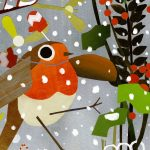 Winter, robin, and Environment/Nature
