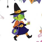 monster, Halloween, vampire, Haunted House, mummy, little witch, Spider, spooky,  cute, and stickers