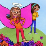 girl heroes, saint, and Helping Others