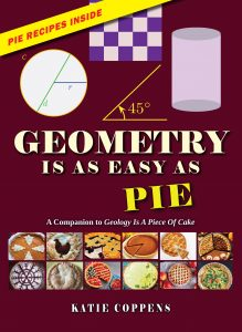 Geometry is as Easy as Pie is a nonfiction book for ages 9-12 that teaches children geometry fundamentals through food!