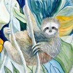 sloths, jungle animal, and Cute Animals