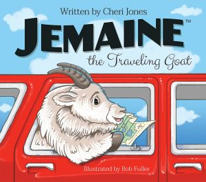 Jemaine the Traveling Goat Book Cover
