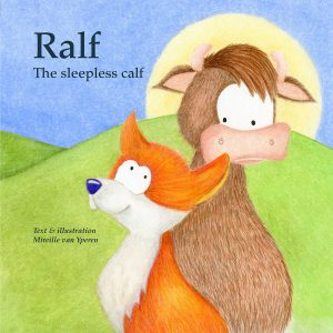 Ralf the Sleepless Calf Picture Book Cover