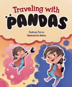 Traveling with Pandas is a picture book by Pedram Parva about love, friendship, and traveling.