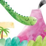 Dinosaurs, children's yoga, and Yoga and Meditation