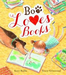 Boo Loves Books, a book by Kaye Baillie and Tracie Grimwood