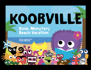 Book Monsters Beach Vacation, a book by author-illustrator Kristin Winovich