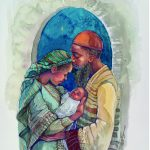 Nativity, baby Jesus, The story of the birth of Jesus., birth of jesus, Black America, Black, and African America