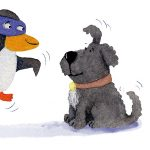ninjas, Penguin, and Dogs