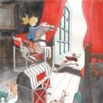 A child's view of life., #Children's book, and  watercolors