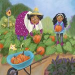 grandparent, children's gardening, Pumpkins, Fall activities, and Cooking and Food