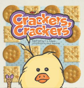 Crackers, Crackers, is a picture book by author Christy L Schwan, illustrated by Amy E Malczewski