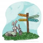 rabbit, Map, Environment/Nature, Nonfiction, cute, and Cute Animals