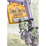 graphic novel, Humorous middle grade, middle grade, monsters, frankenstein, zombies, witches, and graphic novel