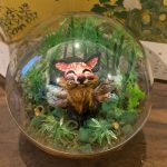 fox, clay sculpture, and creature