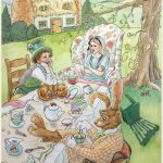 mad tea party and alice in wonderland