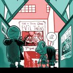 graphic novel, twins, witches, and Election