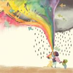 rainbow, #Friendship, Hope, and Working together