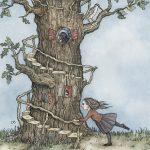 beautiful tree and Action/Adventure Children's Story